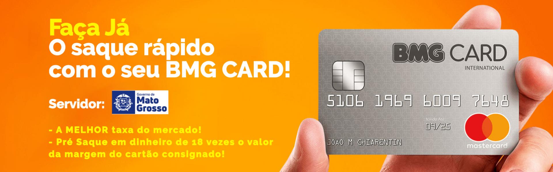 Saque Rápido BMG CARD